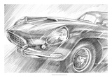 Sports Car Study II Giclee Print by Ethan Harper
