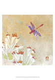 Dragonfly Lustre I Posters by Evelia Designs