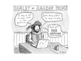 Hamlet vs. Amazon Prime - New Yorker Cartoon Premium Giclee Print by Roz Chast
