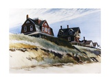 Cottages at Wellfleet Metal Print by Edward Hopper