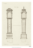 Chippendale Clock Cases II Giclee Print by Thomas Chippendale