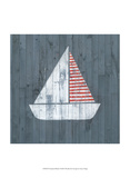 Nautical Plank I Poster by Grace Popp