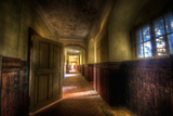 Hallway with Sunlight Photographic Print by Nathan Wright