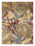 Marbleized II Giclee Print by  Vision Studio