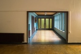 Hallway in Office Building Photographic Print by Nathan Wright