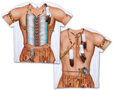 Big Chief Costume Tee (Front/Back) Sublimated