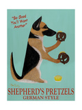 Shepherd's Pretzels Metal Print by Ken Bailey