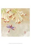 Dragonfly Lustre II Prints by Evelia Designs