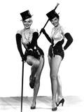 Gentlemen Prefer Blondes, Marilyn Monroe, Jane Russell, 1953 Lámina en metal