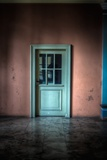 Green Glazed Door Photographic Print by Nathan Wright