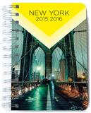 Agenda Escolar Dia Pagina 2015-2016 New York Journal