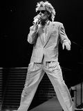 Rod Stewart on Stage at M.S.G Metal Print