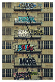 Urban Tags II Posters by Honey Malek