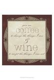 Inspired Wine I Posters av  Vision Studio