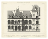French Facade I Giclee Print by  Vision Studio