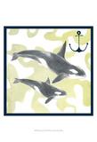 Whale Composition III Sztuka autor Megan Meagher