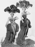 Gentlemen Marry Brunettes, from Left, Jane Russell, Jeanne Crain, 1955 Metal Print