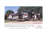 Cessna Airplane, c.1947 Metal Print