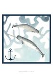 Whale Composition II Plakaty autor Megan Meagher