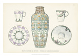 Sevres Porcelain Collection II Giclee Print by  Vision Studio