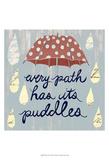 Rainy Day II Poster by Grace Popp
