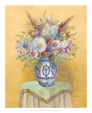 Bouquet in Asian Vase I Prints by Wendy Russell