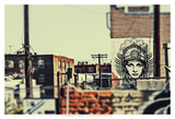 Urban Tags III Prints by Honey Malek