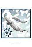 Whale Composition IV Plakaty autor Megan Meagher