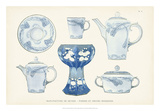 Sevres Porcelain Collection IV Giclee Print by  Vision Studio