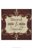 Inspired Wine V Prints by  Vision Studio