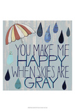 Rainy Day III Prints by Grace Popp
