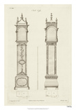 Chippendale Clock Cases I Giclee Print by Thomas Chippendale