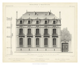 French Facade II Giclee Print by  Vision Studio