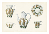 Sevres Porcelain Collection III Giclee Print by  Vision Studio