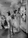 Showgirls Standing in the Dressing Room of the Stardust Hotel Metal Print by Ralph Crane