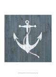 Nautical Plank IV Prints by Grace Popp