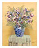 Bouquet in Asian Vase II Posters by Wendy Russell