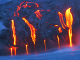 Travel Kilauea Volcano Metal Print by David Jordan