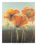Poppy Tops I Posters by Wendy Russell