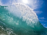 Shorebreak wave Metal Print by Mark A. Johnson
