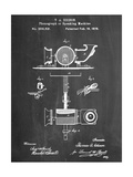 Thomas Edison Speaking Telegraph Metal Print