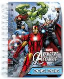 Agenda Escolar Dia Pagina 2015-2016 Marvel Avengers Journal