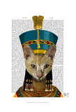 Egyptian Queen Cat Posters by  Fab Funky