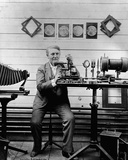 Thomas Edison in the Lab Photo