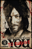 The Walking Dead- Daryl Needs You Plakaty