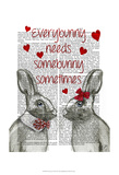 Everybunny Poster by  Fab Funky