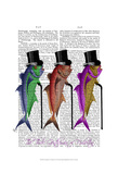 Gentleman of Fisherton Prints by  Fab Funky