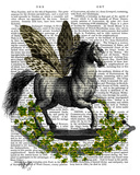 Rocking Horse Fly Posters by  Fab Funky