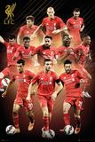 Liverpool- Players 15/16 Kunstdruck