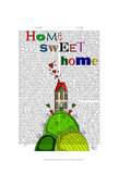 Home Sweet Home Illustration Art by  Fab Funky